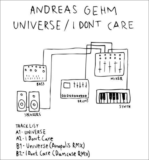 Andrea Gehm :: Universe / I Don't Care