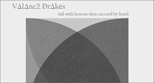 Valance Drakes :: Fail With Honour Then Succeed By Fraud EP
