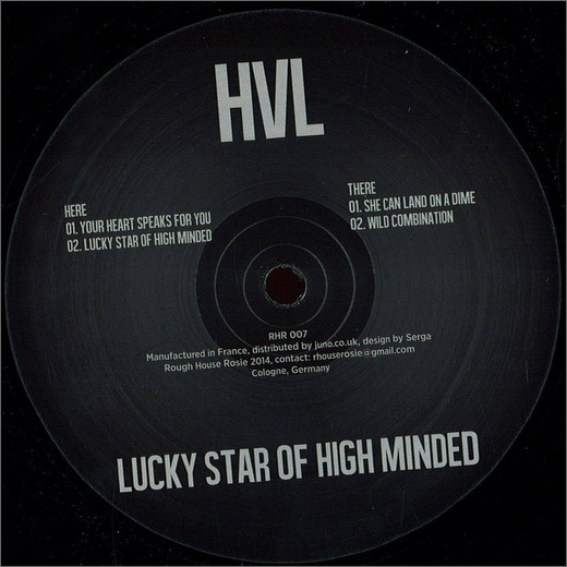HVL :: Lucky Star of High Minded EP