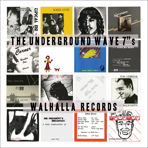 "V/A :: The Underground Wave 7""s (Walhalla)"