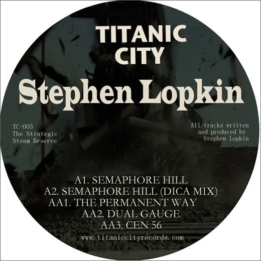 Stephen Lopkin :: The Strategic Steam Reserve (Titanic City)