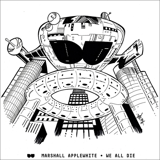 Marshall Applewhite :: We All Die EP (Detroit Underground)